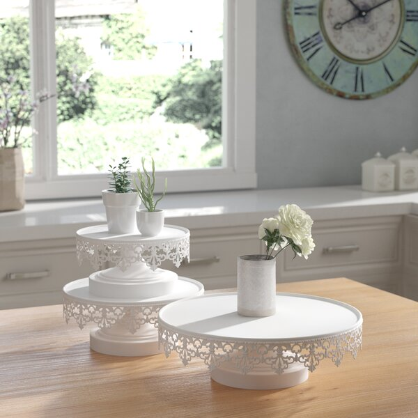 Soucie 3-Piece Cake Stand Set by Lark Manor
