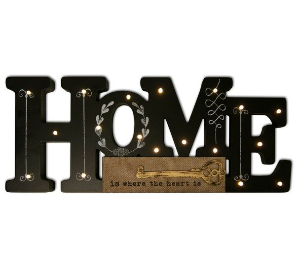 Lighted Home Wall Decor by HDC International