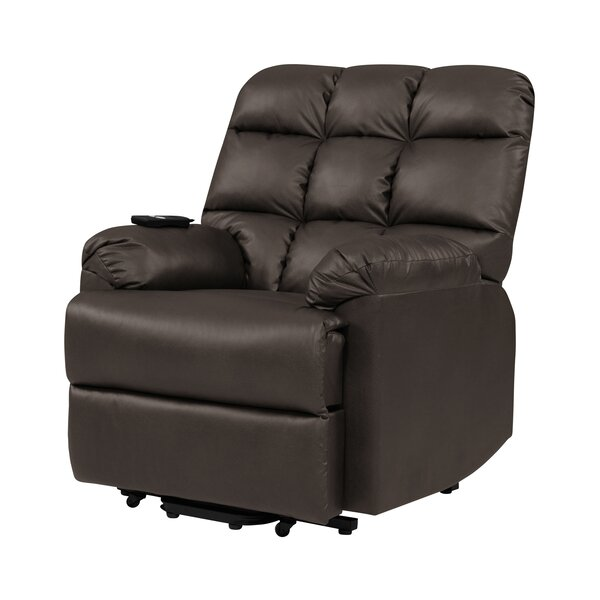Power Lift Assist Wall Hugger Recliner by Latitude Run