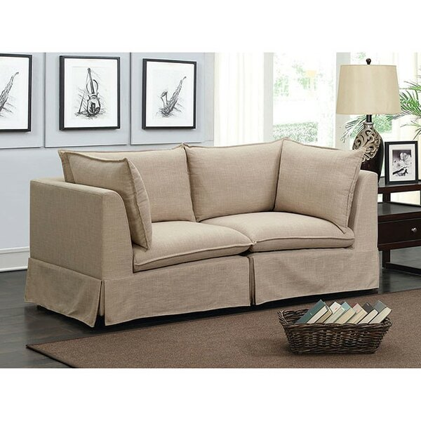 Curran Loveseat by Rosecliff Heights