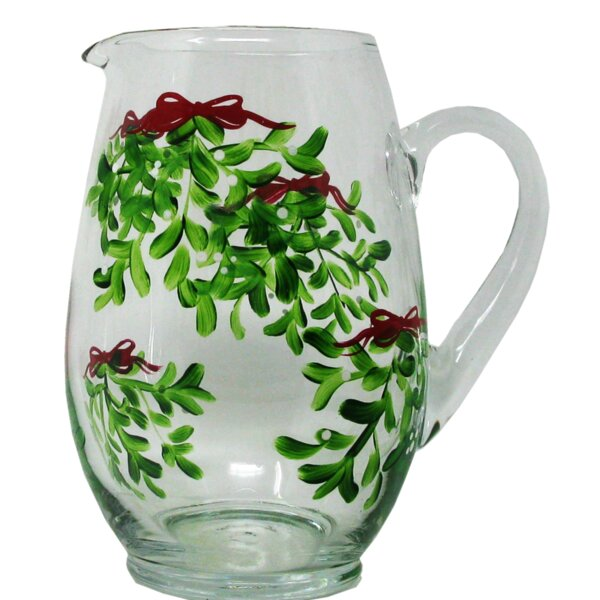 Drouin Mistletoe Pitcher by The Holiday Aisle
