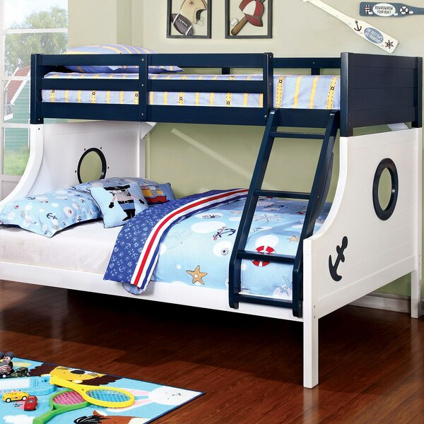 Boatner Roadster Twin Over Full Bunk Bed by Harriet Bee