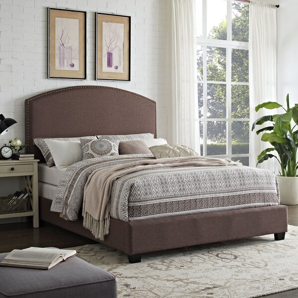 Beneduce Upholstered Standard Bed by Alcott Hill