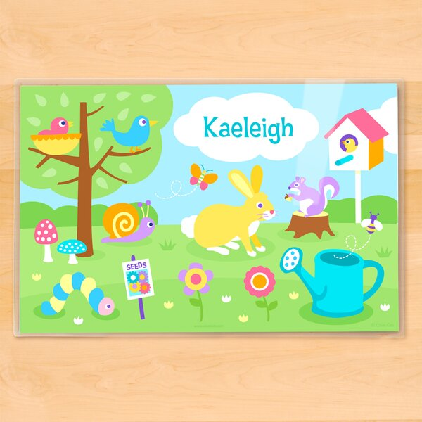 Spring Personalized Placemat by Olive Kids