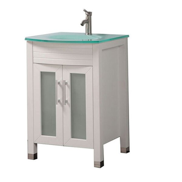 Pratt Modern 24 Single Bathroom Vanity Set by Orren Ellis