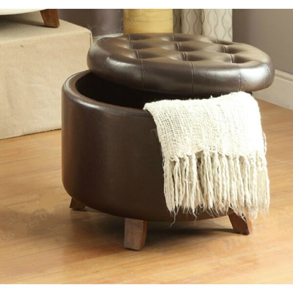Boon Tufted Storage Ottoman by George Oliver