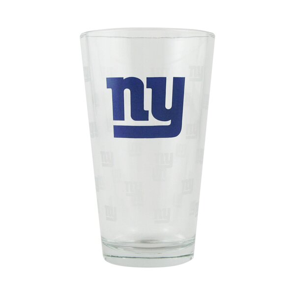 NFL Pint Glass Cup (Set of 2) by Boelter Brands