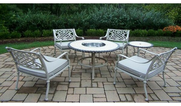 Tacoma 6 Piece Conversation Set with Cushions by Oakland Living