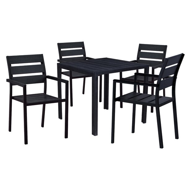 Galle Modern Contemporary 5 Piece Dining Set by Wrought Studio
