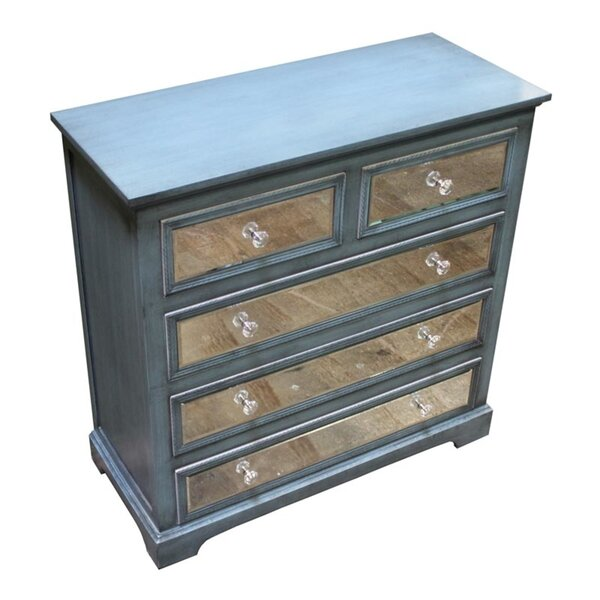 Diego 5 Drawer Bachelors Chest by Rosdorf Park