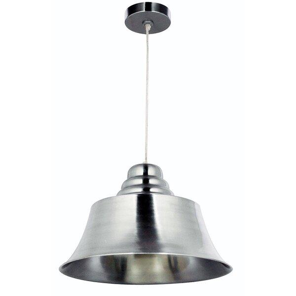 Piermont 1-Light Bell Pendant by Wildon Home ®