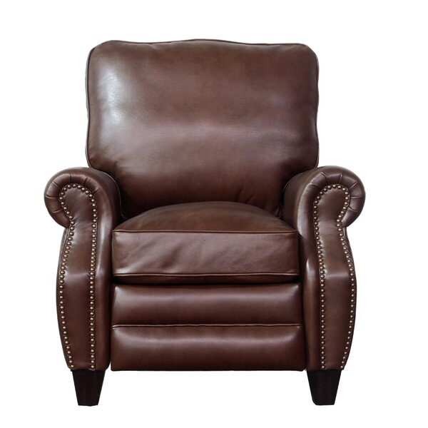 Ponteland Leather Manual Recliner by Darby Home Co