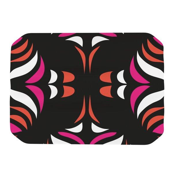 Magenta Orange Hawaiian Retro Placemat by KESS InHouse