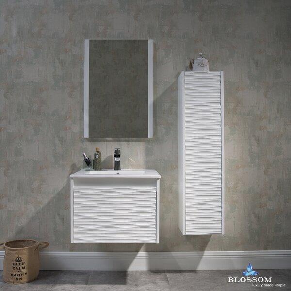 Artesian 24 Single Bathroom Vanity Set with Mirror by Ivy BronxArtesian 24 Single Bathroom Vanity Set with Mirror by Ivy Bronx