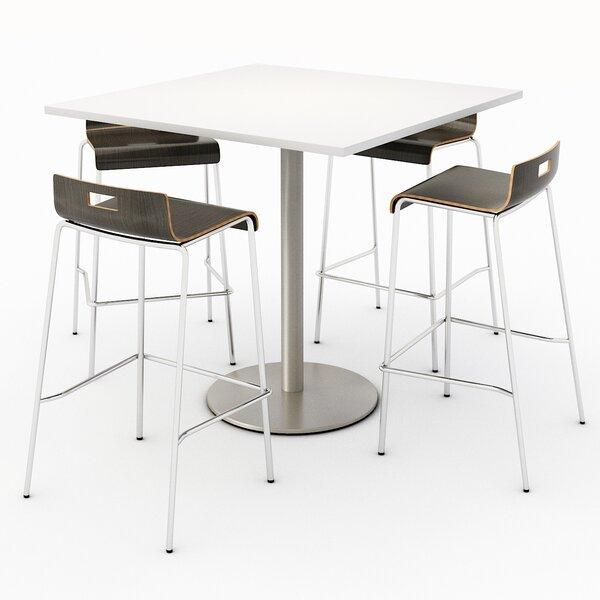 Square Breakroom Table Set By KFI Studios