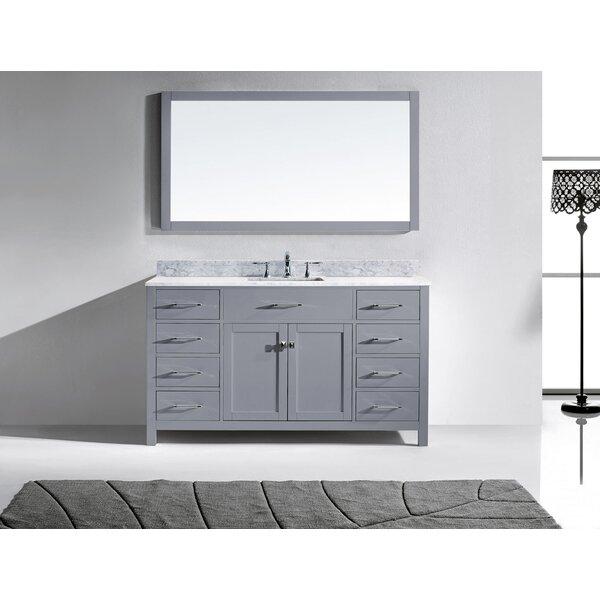 Raishon 60 Single Bathroom Vanity Set by Willa Arlo Interiors