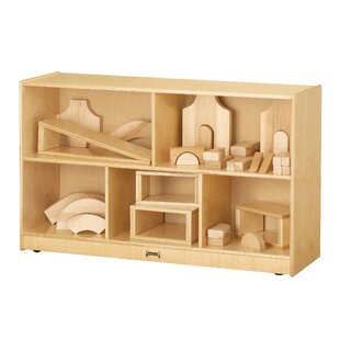 Best Reviews 5 Compartment Cubby with Casters ByJonti-Craft