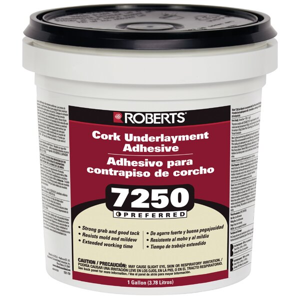 Roberts 1-Gal. Pail Of Pro Grade Cork Underlayment Adhesive by QEP