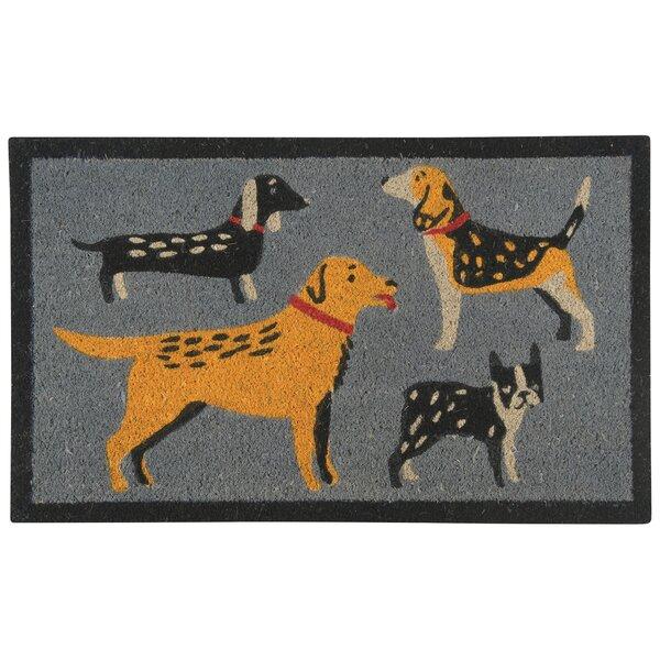 Rashebia Dog Days Doormat by Red Barrel Studio
