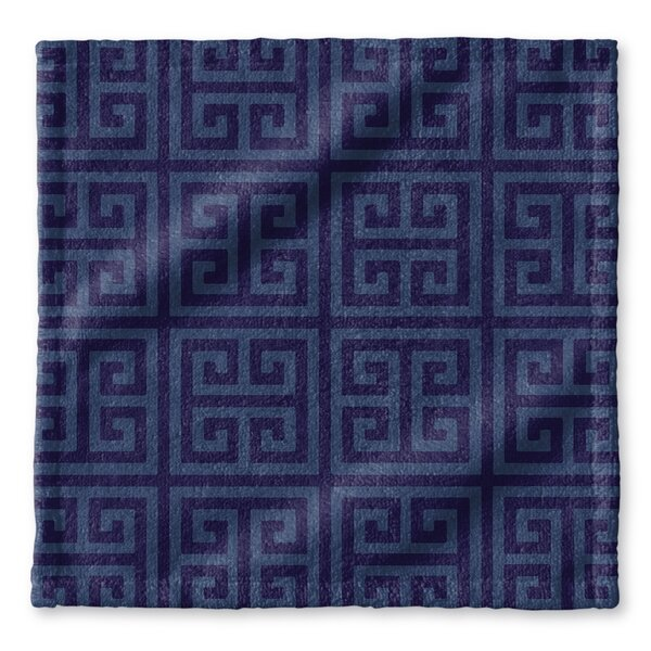 Greek Key Wash Cloth by KAVKA DESIGNS