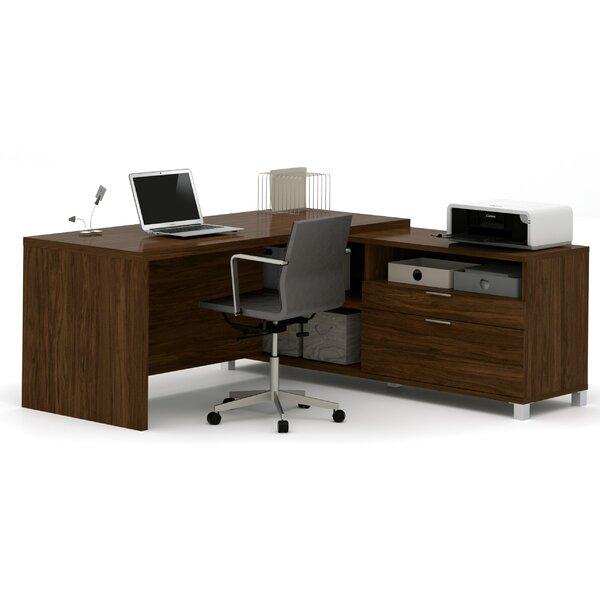 Ariana L-Shape Executive Desk by Mercury Row