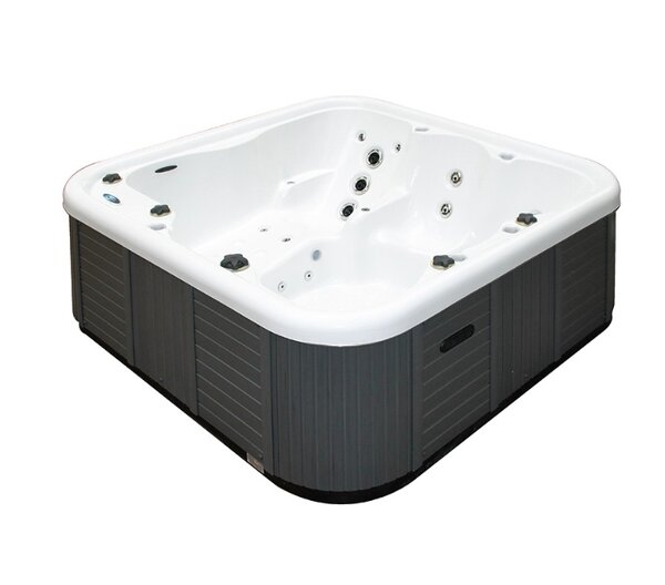 Corsica 5-Person 25-Jet Spa with LED Light by Passion Spas