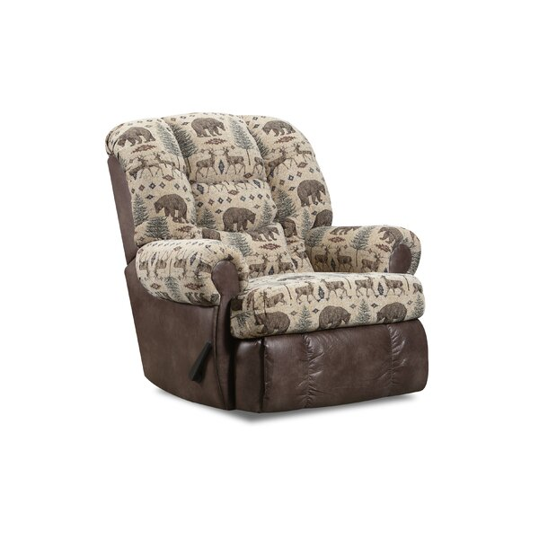 Delmonte Camouflage Manual Rocker Recliner By Red Barrel Studio