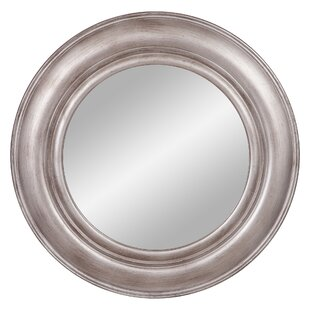Breakwater Bay Ladue Pewter Port Hole Wall Mounted Mirror