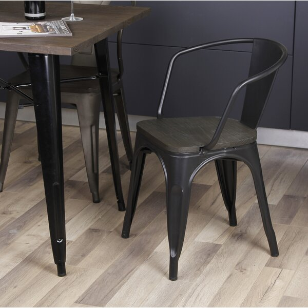 Anni Metal Dining Chair (Set of 4) by 17 Stories
