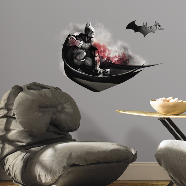 Internet Only 2 Piece Batman Arkham City Darkness Wall Decal by Room Mates