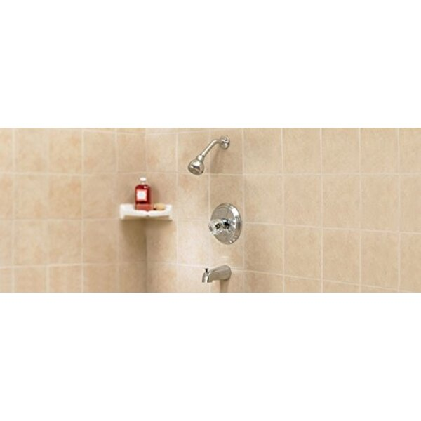 Volume Control Tub and Shower Faucet by Oakbrook Collection Oakbrook Collection