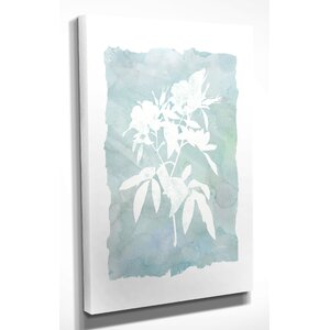 'Silhouette Botanical III' by Carol Robinson Painting Print on Wrapped Canvas by Wexford Home