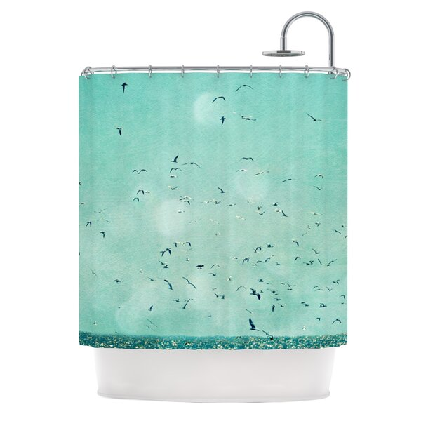 Down by The Sea Shower Curtain by KESS InHouse
