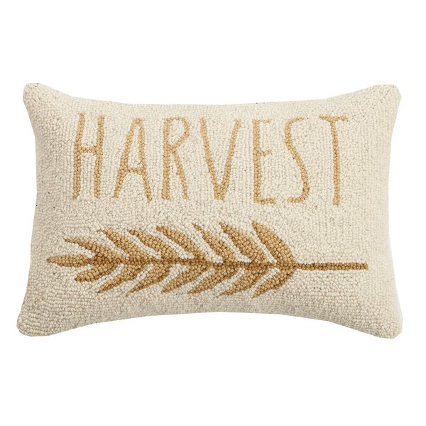 Murakami Harvest Wool Throw Pillow by August Grove
