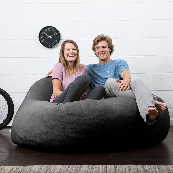 Big Joe Lux Bean Bag Sofa by Comfort Research