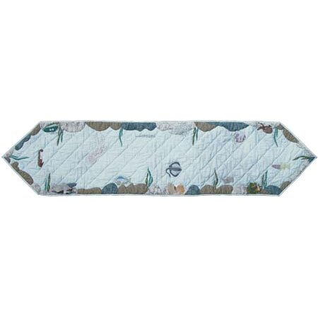 Underwater Haven Table Runner by Patch Magic