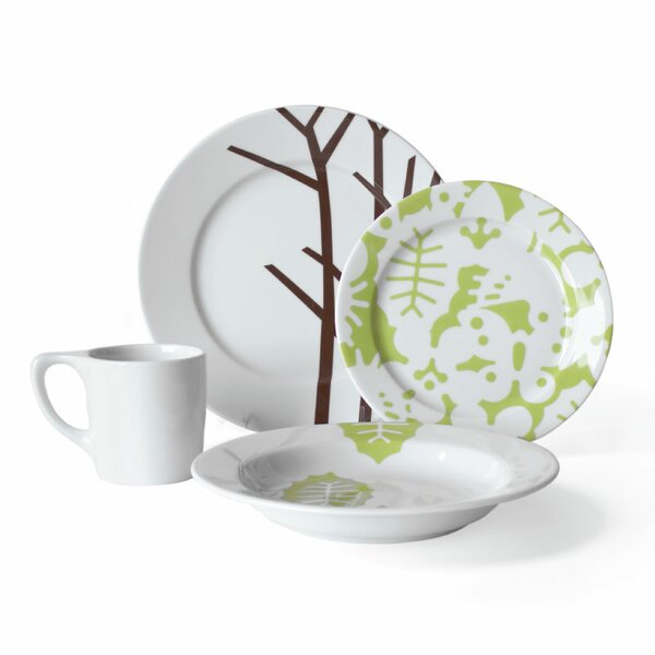 Season 16 Piece Dinnerware Set, Service for 4 by notNeutral
