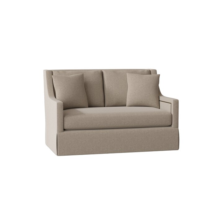 Pleasant Helena High Back Loveseat Pabps2019 Chair Design Images Pabps2019Com