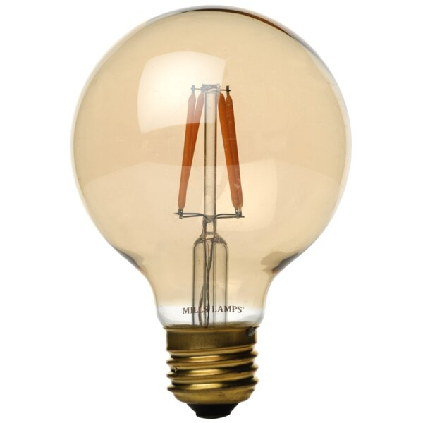 40W E26 LED Vintage Filament Light Bulb by Edison Mills