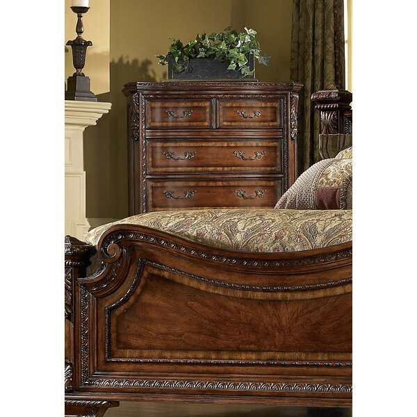 Brussels 6 Drawer Chest by Astoria Grand
