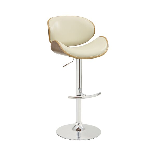 Amana Swivel Adjustable Height Bar Stool by Orren Ellis Orren Ellis
