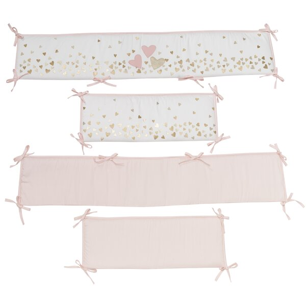 Confetti 4 Piece Crib Bumper by Lambs & Ivy