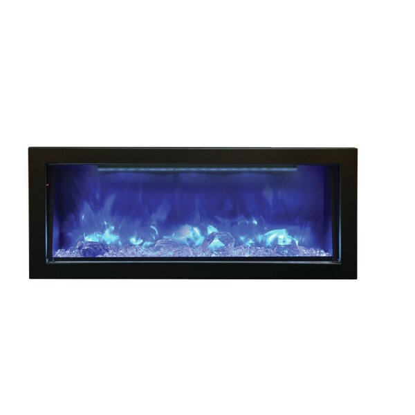 Panorama Series Wall Mounted Electric Fireplace by Amantii