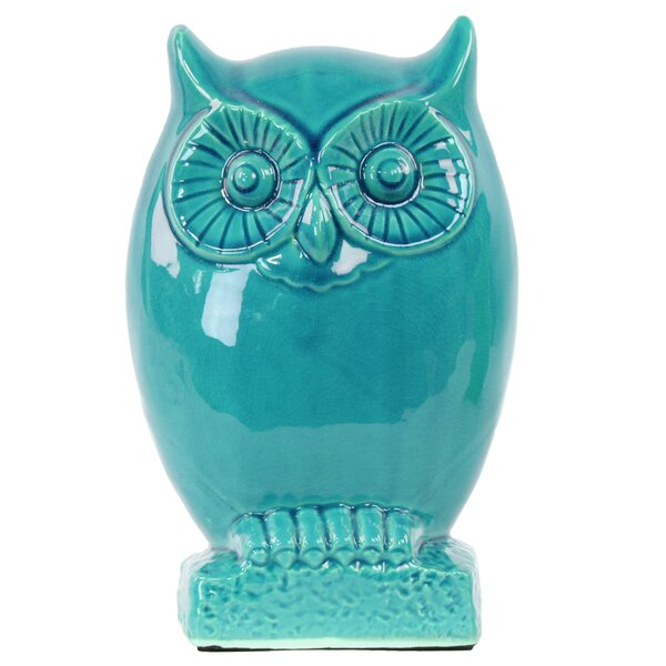 Owl on Base Figurine by Urban Trends