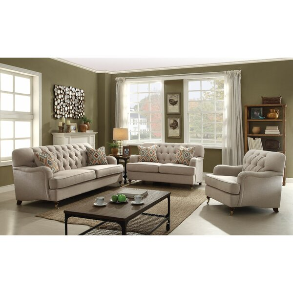 Diep 3 Piece Living Room Set by Darby Home Co