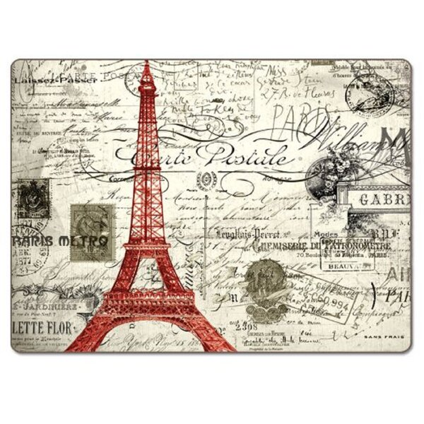 Vintage Paris Hardboard Placemat (Set of 2) by CounterArt