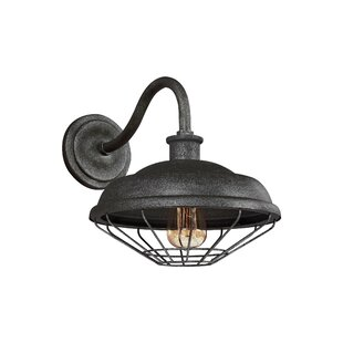 Price comparison Januario 1-Light Outdoor Barn Light By 17 Stories