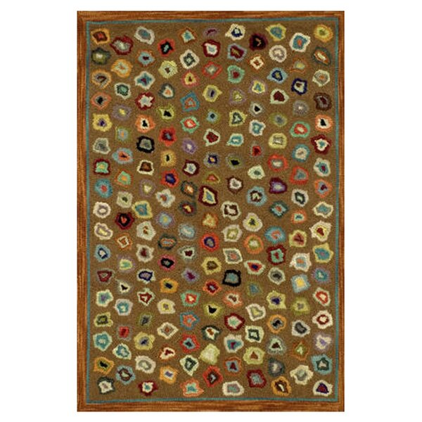 Hooked Brown Area Rug by Dash and Albert Rugs