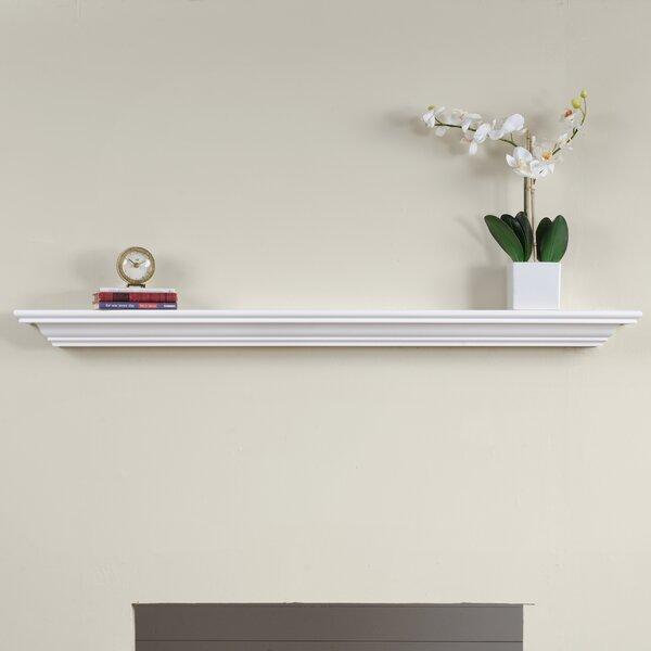 Corlina Fireplace Mantel Shelf by Charlton Home