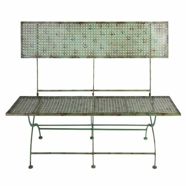 Industrial Heritage Metal Bench by EsschertDesign
